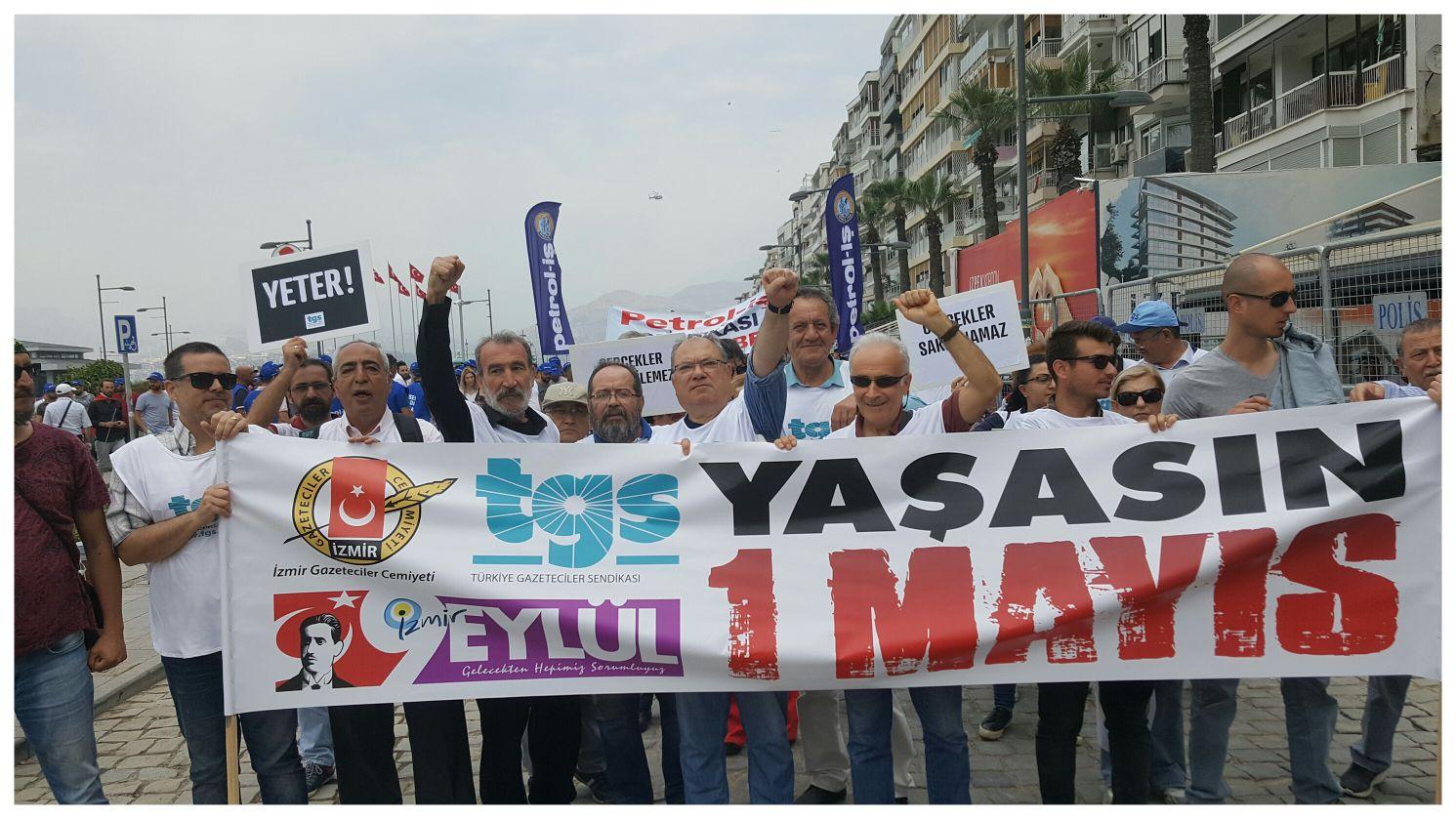 İzmir'de 1 Mayıs coşkusu 1