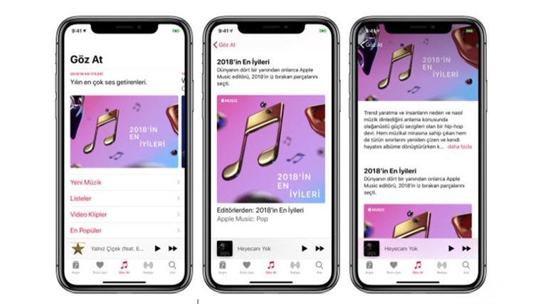 Apple Music'te bu yıl en çok dinlenen şarkılar 1