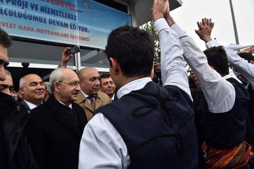Kılıçdaroğlu'ndan MHP Erzurum İl Başkanlığı'na nezaket ziyaret 1