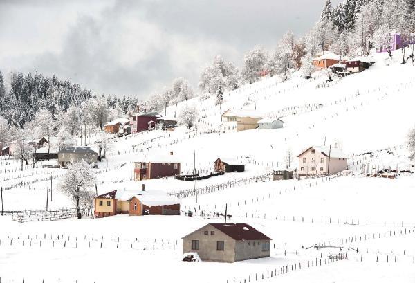 Karadeniz'de kış güzelliği 1