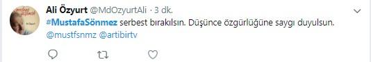 Mustafa Sönmez'in gözaltına alınmasına sosyal medyadan sert tepki 6