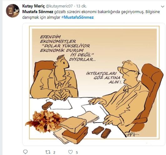 Mustafa Sönmez'in gözaltına alınmasına sosyal medyadan sert tepki 9