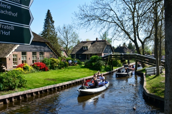 Hollanda'nın Venedik'i: Giethoorn 1