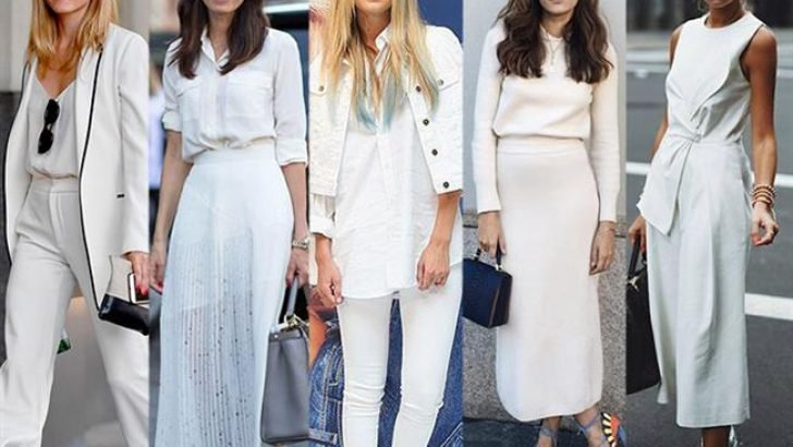 Beyaz renkli kıyafet giyerken dikkat edilmesi gerekenler 1