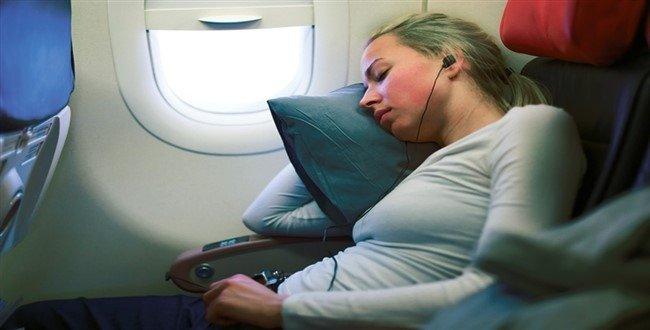 Uçakta basınç dengesi için bunları yapın 1