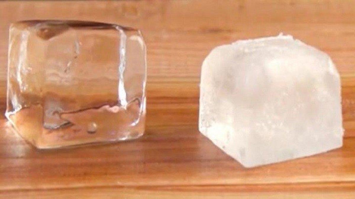 Buz küpleri nasıl şeffaf yapılır?