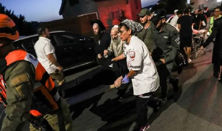 İsrail'de sinagog ayini sırasında tribün çöktü: 2 ölü, 50 yaralı