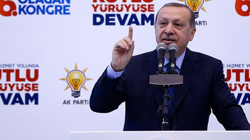 Erdoğan: Ey Amerika, ÖSO'yu birlikte kurmadık mı?
