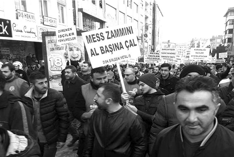 Metal işçileri 30 fabrikada grev kararı astı!