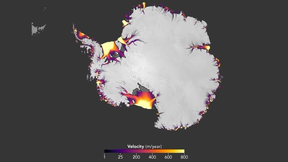 NASA'dan uyarı gibi 'Antarktika' paylaşımı