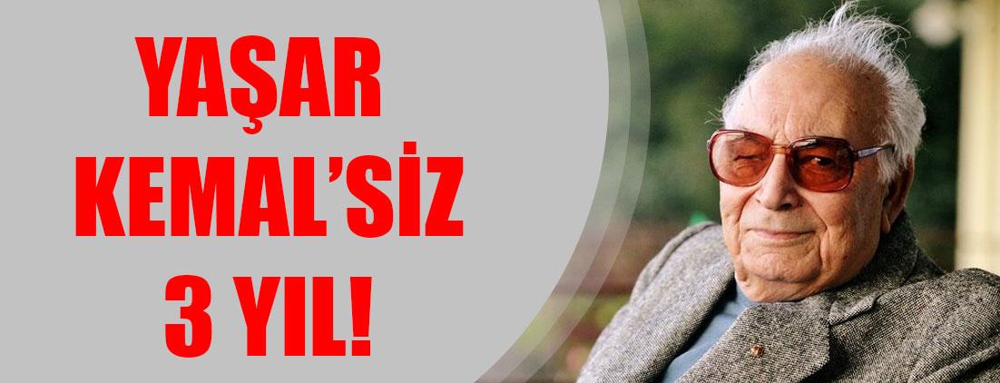 """Yaşar Kemal'siz 3 yıl! """"Her koşulda barış diyen bir yazar"""""""
