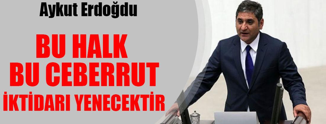 Aykut Erdoğdu Halk Arenası'nda açıkladı: Adayım...