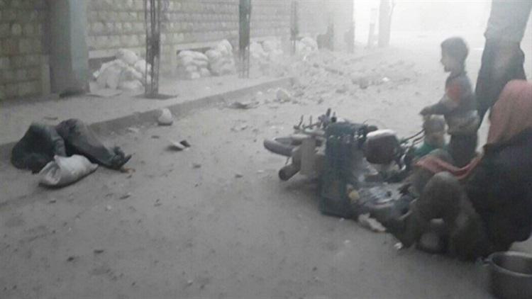 Doğu Guta'da kimyasal saldırı: 75 ölü