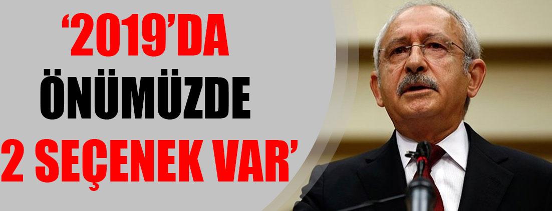 Kemal Kılıçdaroğlu Dünya Romanlar Günü'nde konuştu: 2019'da önümüzde 2 seçenek var