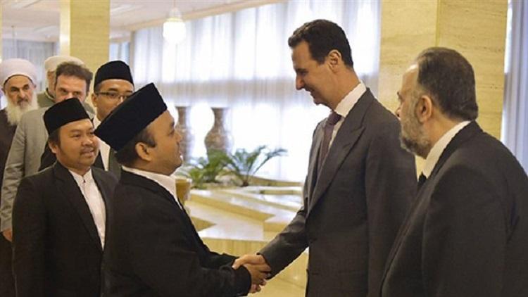 Esad, Şam'da ortaya çıktı