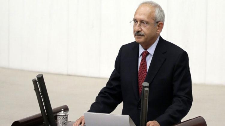Kemal Kılıçdaroğlu konuşurken meclis karıştı