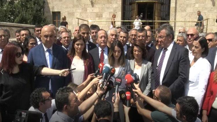 CHP'li 129 milletvekilinden ortak açıklama