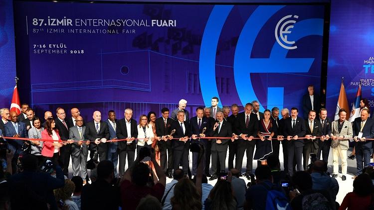 İzmir Enternasyonal Fuarı, 87'nci kez kapılarını açtı