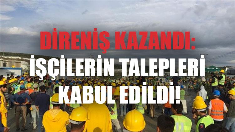 3. Havalimanı Direnişi | İşçilere tehdit!