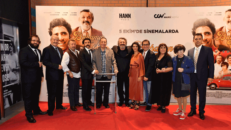 'Babamın Ceketi' Filminin Galası Yapıldı
