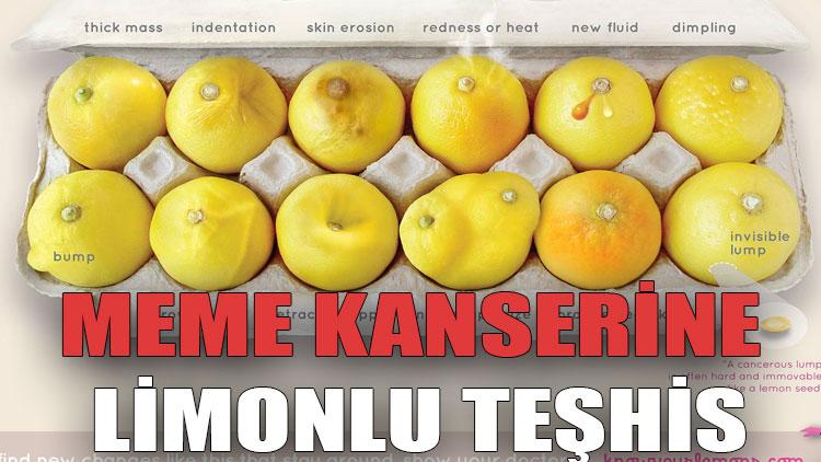 Meme kanserine limonlu teşhis