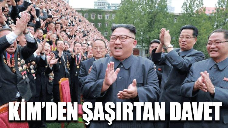 Kim'den şaşırtan davet