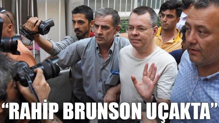 Reuters: Rahip Brunson uçakta