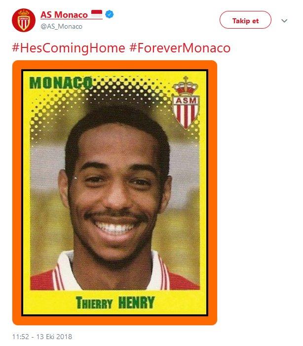 Thierry Henry imzayı attı!