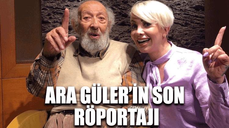 Ara Güler son röportajını Halk TV'ye vermişti