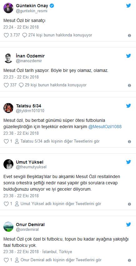 Emirates'te Mesut Özil resitali!
