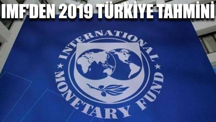 IMF'den 2019 Türkiye tahmini