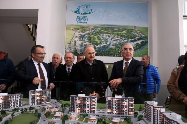 Ankara'da golf sahalı konut projesi