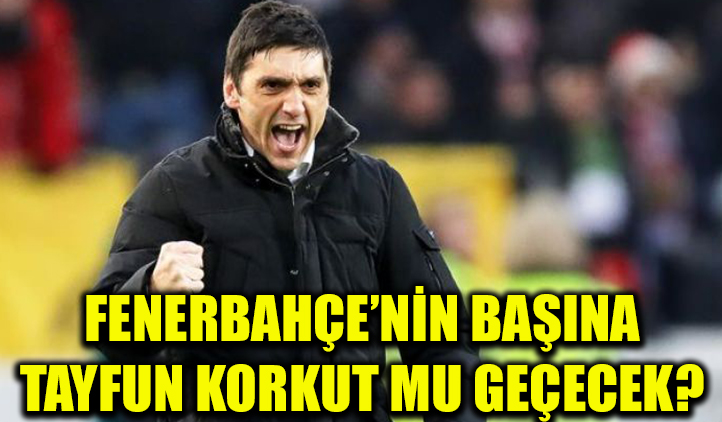 Fenerbahçe'nin başına Tayfun Korkut mu geçecek?