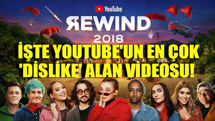 İşte YouTube'un en çok 'dislike' alan videosu!