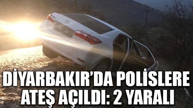 Diyarbakır'da polislere ateş açıldı: 2 yaralı