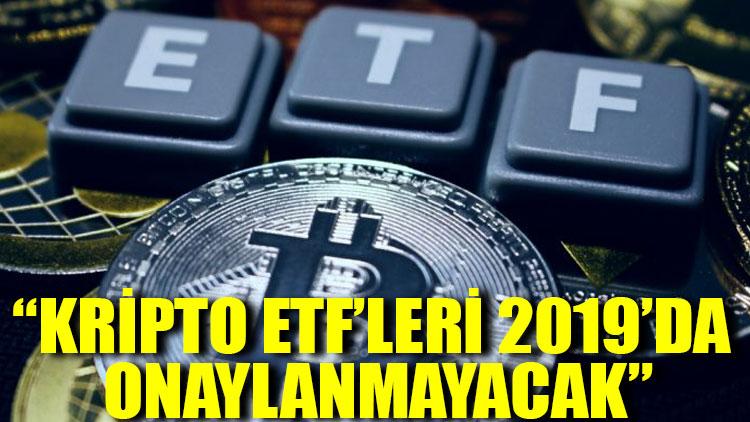 Capco / Almazo: Kripto ETF'leri 2019'da onaylanmayacak