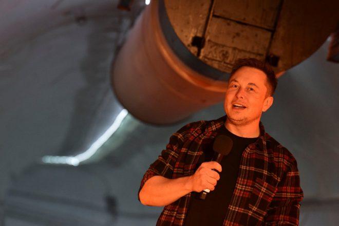 Elon Musk çılgın projesini açtı