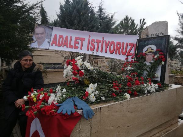 Yarbay Ali Tatar, mezarı başında anıldı