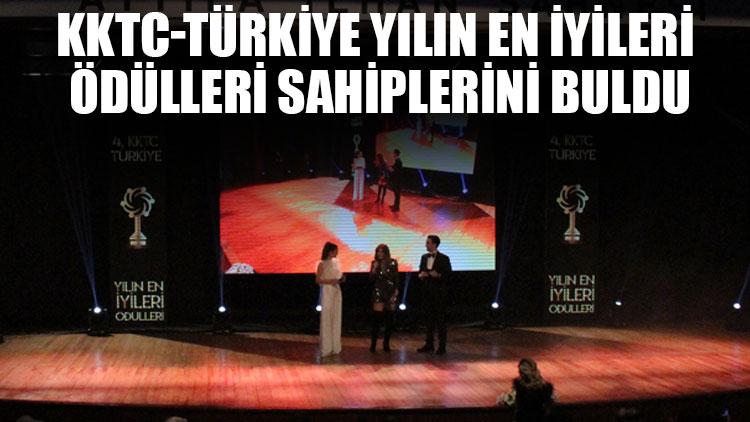 KKTC-Türkiye Yılın En İyileri Ödülleri sahiplerini buldu