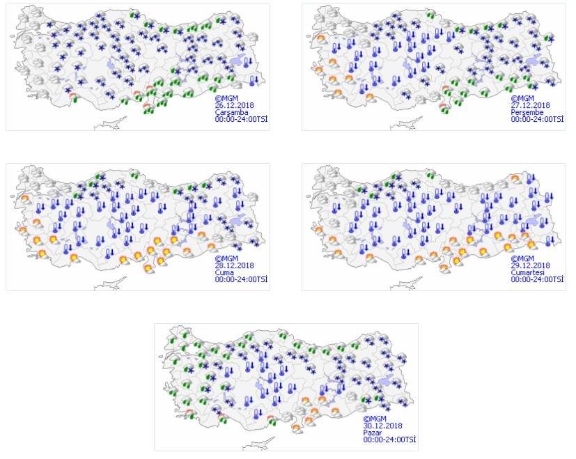 Meteoroloji'den uyarı: 12 derece düşecek! Kar, don, sağanak...