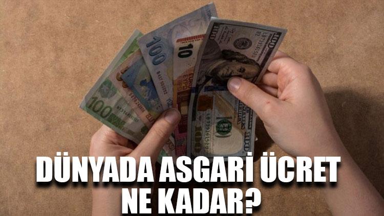 Dünyada asgari ücret ne kadar?
