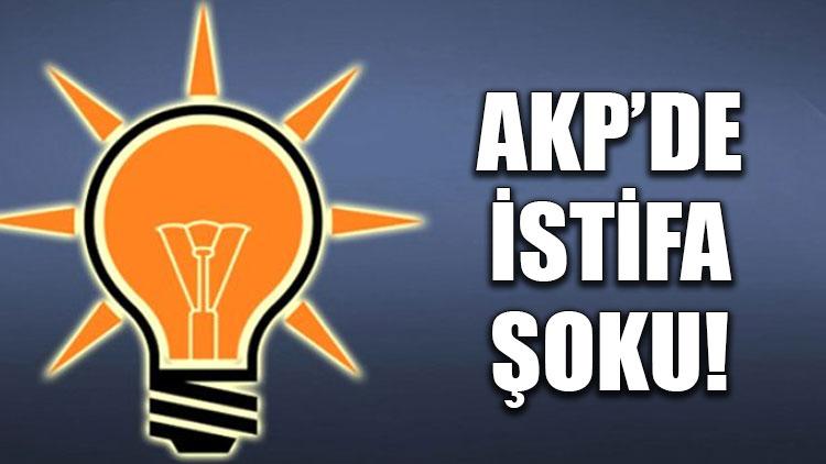 AKP'de istifa şoku!