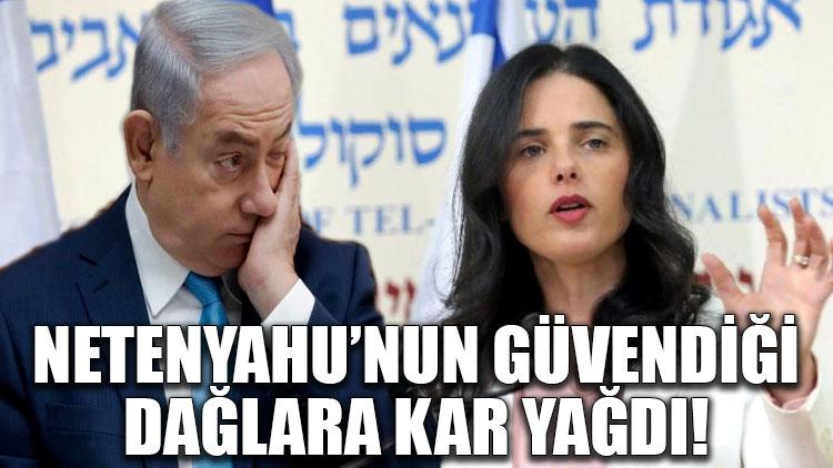 Netanyahu'nun güvendiği dağlara kar yağdı!