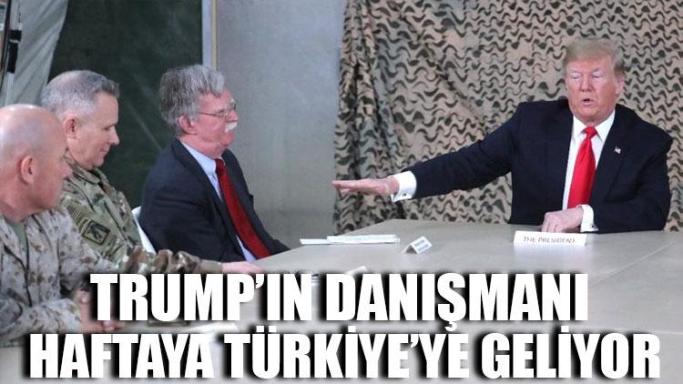 Trump'ın danışmanı haftaya Türkiye'ye geliyor