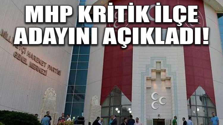 MHP'nin Gölbaşı belediye başkan adayı Ramazan Şimşek oldu