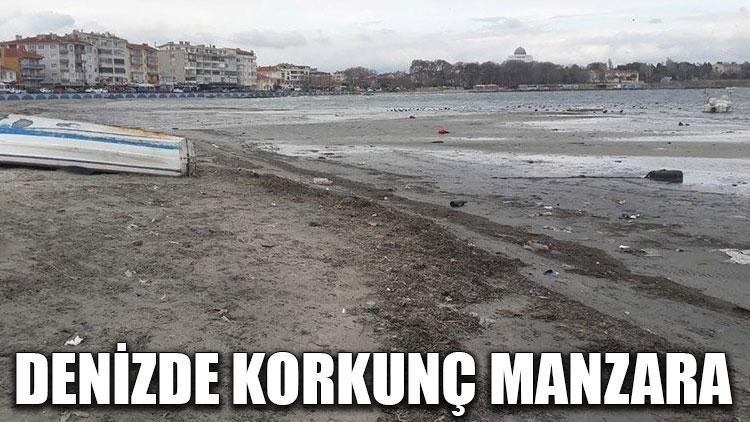 Denizde korkunç manzara