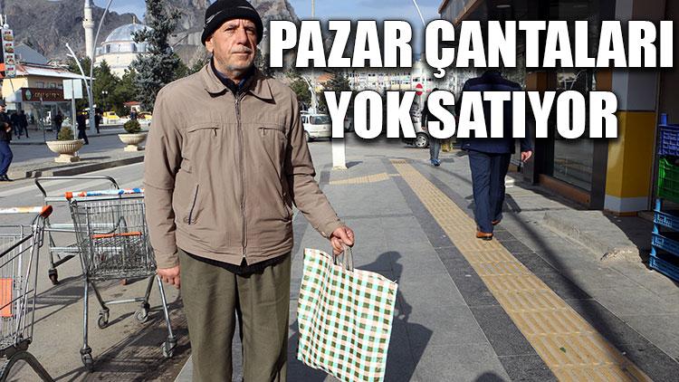 Pazar çantaları yok satıyor