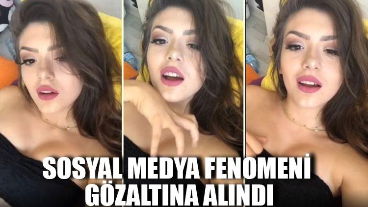 Sosyal medya fenomeni Simge Barankoğlu gözaltına alındı