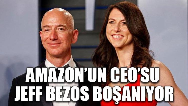 Amazon'un CEO'su Jeff Bezos boşanıyor