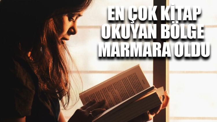En çok kitap okuyan bölge Marmara oldu